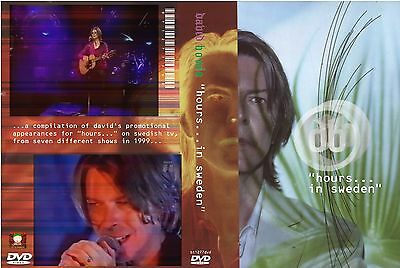David Bowie. 1999. Hours...in Sweden Tv.  Pro - Shot Dvd.