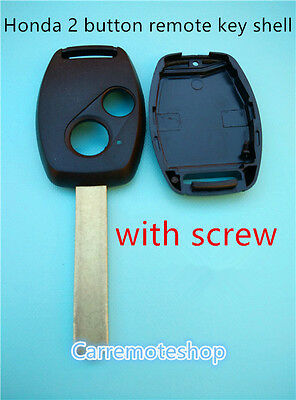 HONDA 2 Button Remote Key  Case Shell  for S2000 CIVIC CRV JAZZ ODYSSEY ACCORD