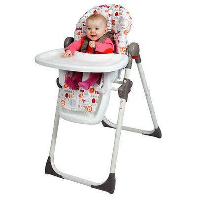 Red Kite Baby Highchair Toddler Feed Me Chair Tray Harness Reclining Deli Yummy