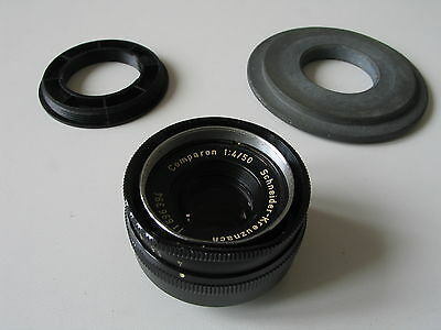 Comparon 50 mm / 1:4 de Schneider pour labo photo argentique