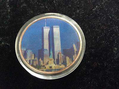 15th Anniversary of 9/11 3D  Pentagon & World Trade Center Coin