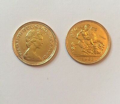 Two Gold Half Sovereign Decimal Coins For Investment