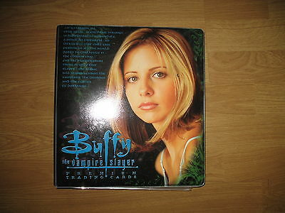 Buffy Trading cards 4 sets