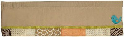 Carter's Wildlife Valance, Beige (Discontinued by Manufacturer)