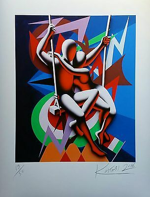 Mark Kostabi - 3D construction numerata e firmata