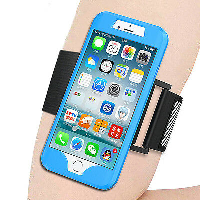 Apple iPhone 7 Armband For Running Sports Gym Jogging Case Cover Holder 4.7""
