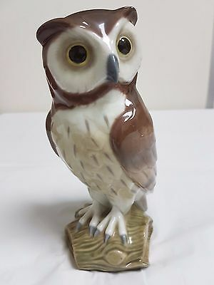 Lladro 'short Eared Owl' Figurine 5418 - Retired