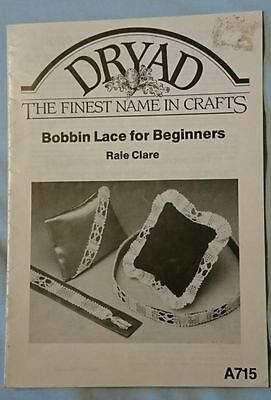 Dryad Bobbin Lace for Beginners, A715 (170004)