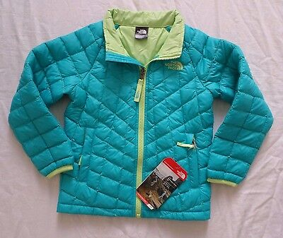 New The North Face Kids Girls Thermoball Insulated Jacket Toddler Size 2T 5T