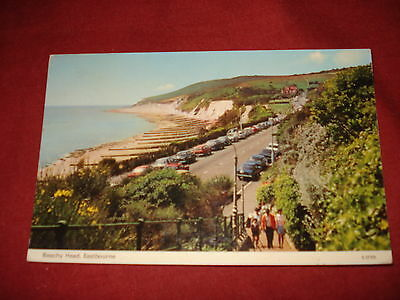 VINTAGE SUSSEX: EASTBOURNE Walkway and Beachy Head colour 1977 CARS