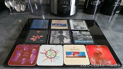 Set Of 10 pcs Depeche Mode Albums Coasters.
