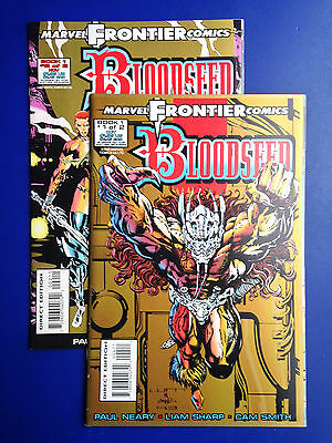 Bloodseed #1-2 (1993, Marvel)  2-Issue Lot.  Great price!!  VF