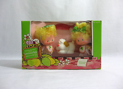 NEW 1983 Strawberry Shortcake ✧ LEM and ADA ✧ Vintage Palitoy Doll MISB