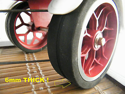 Mamod Tyres SW1 Steam Wagon. 6mm THICKNESS UNIQUE TO US - SUPERBLY  AUTHENTIC !