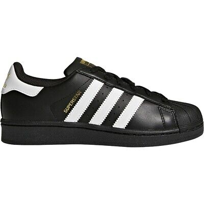 Adidas Originals Big Kids Boys GS Superstar White Black C77154