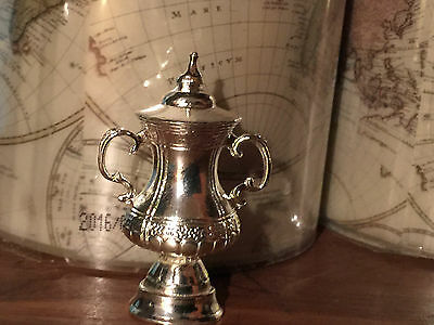 Mini FA Cup Trophy made from metal, Arsenal, Gunners, Gooners, 13 Times Winners