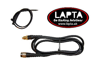 Water Temperature Sensor for Alfano water Rotax long lead for Karts
