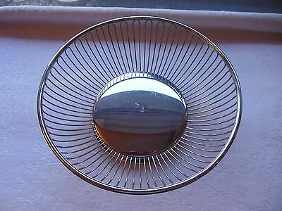 """Wmf Italy Silver Plated 8"""" Bread Pastry Basket"""