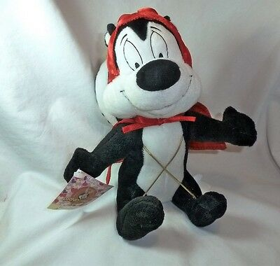 Looney Tunes Pepe le Pew Devil Costume Plush Stuffed  ***FREE SHIPPING US***
