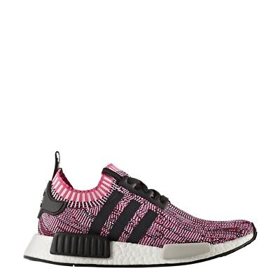 dc39ac755 adidas Women NMD R1 W Primeknit Pink shock core Black footwear white-BB2363