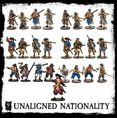 Blood and Plunder Starter Set for the Unaligned 25 Miniatures