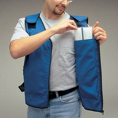 Cooling Vest with Phase Change Inserts