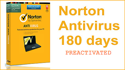 Norton AntiVirus 2017 key ORIGINAL 6 months for 1Pc