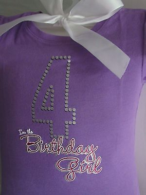 The Children's Place Toddler Girls Short Sleeve Birthday Girl Graphic T-Shirt 4T