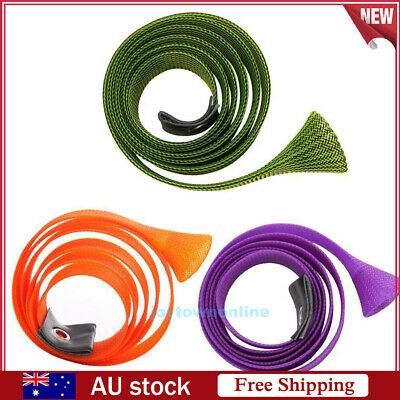 170cm Skin Fishing Rod Sock Cover Pole Braided Cable Sleeve Glove Protector