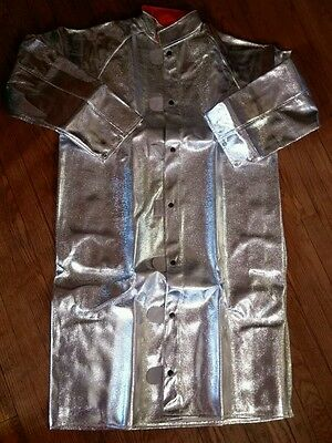 NEW Aluminized Foundry Jacket  ~ Size Large
