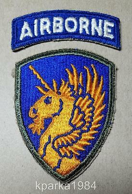 Ww2 Us Army Thirteenth Airborne Infantry Division Patch And Tab