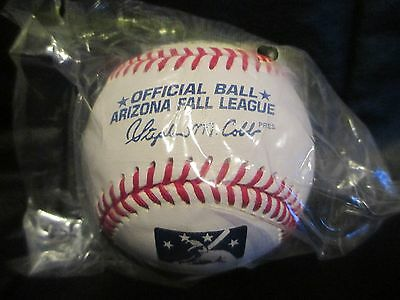 Official Arizona Fall League Game Baseball Cobb President Still New In Bag
