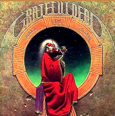 "2.5"" Grateful Dead BLUES FOR ALLAH Vintage style Album Cover STICKER. Bong, pipe"