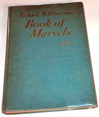 Book of Marvels: The Occident by Richard Halliburton (1937, HC) 1st EDITION!