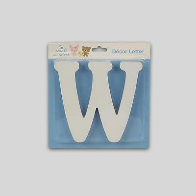 Small Wonders Wooden Letter Wall Decor,   Letter W