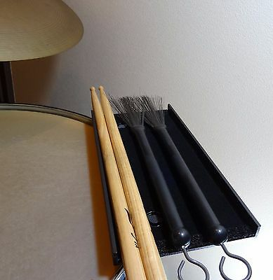 Floor Tom Tray- Drummer's Palette -drum stick holder,trap table,percussion table