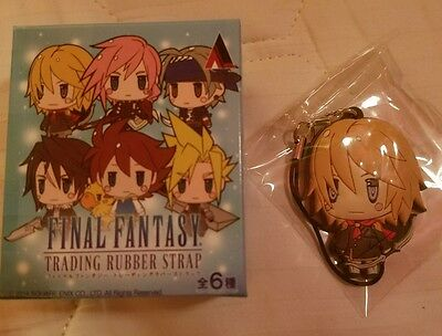Final Fantasy Type-0 Trey Trading Rubber Strap Vol. 1 Square Enix