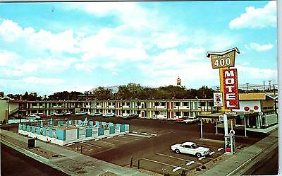 ALBUQUERQUE, NM New Mexico IMPERIAL 400 MOTEL Rt 66  c1960s  Roadside  Postcard