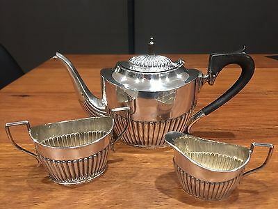 Antique sterling silver coffee set circa 1910