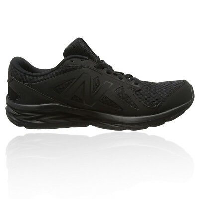 New Balance M490v4 Mens Black Cushioned Running Sports Shoes Trainers D Width