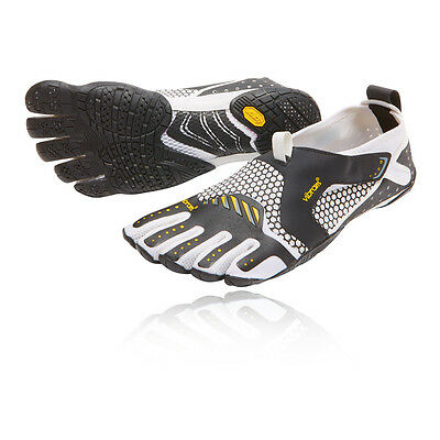 Vibram FiveFingers Signa Mens White Black Running Sports Shoes Trainers