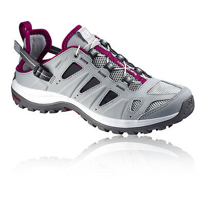 Salomon Ellipse Cabrio Womens Grey Walking Hiking Sandals Summer Shoes