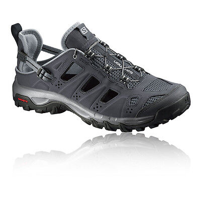 Salomon Evasion Cabrio Mens Black Walking Hiking Sandals Summer Shoes