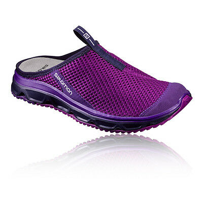 Salomon RX Slide 3.0 Womens Purple Trekking Hiking Sandals Summer Shoes
