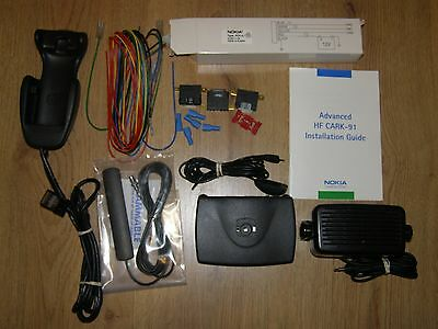 Nokia Cark-91 Handsfree Car Kit & New Antenna & New Power Wires 6210 6310 + More