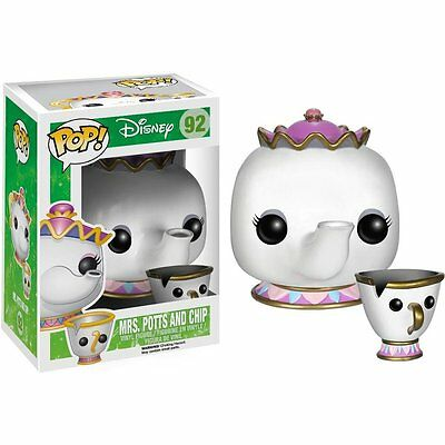 Mrs. Potts & Chip Beauty And The Beast POP! Disney #92 Vinyl Figur Funko