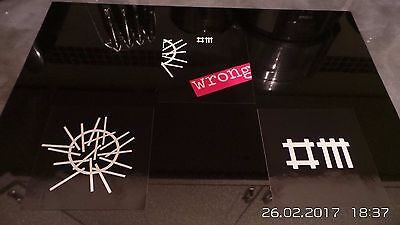 3pcs of  Depeche Mode Wrong Stickers