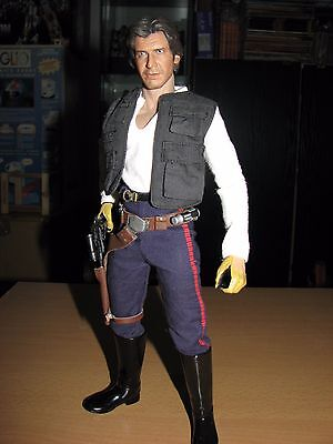 Star Wars Han solo 1/6 Custom Hot Toys Sideshow