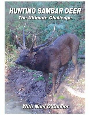 Hunting Sambar Deer With Noel O'connor Dvd Free Shipping Aust Wide