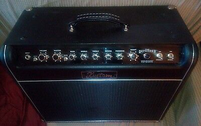 Kustom Defender 112 50 Tube / Valve Guitar Combo Amp - Excellent Condition